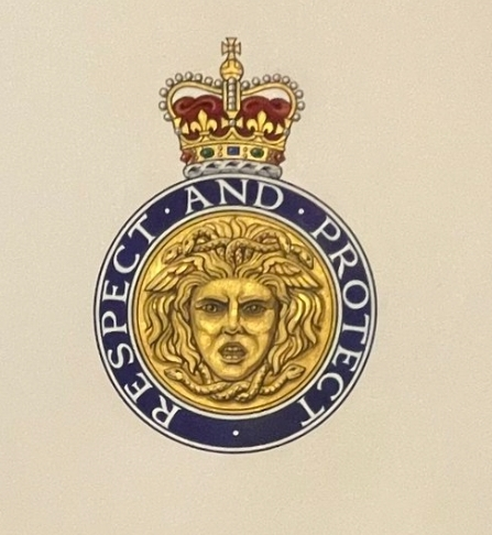 Logo of the UK CPPU, saying Respect and Protect