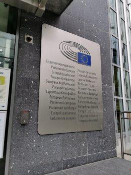 image of a silver plaque with EU logo